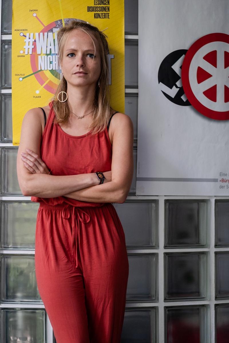 Romy Arnold ist Projektleiterin bei der Mobilen Beratung Thüringen.