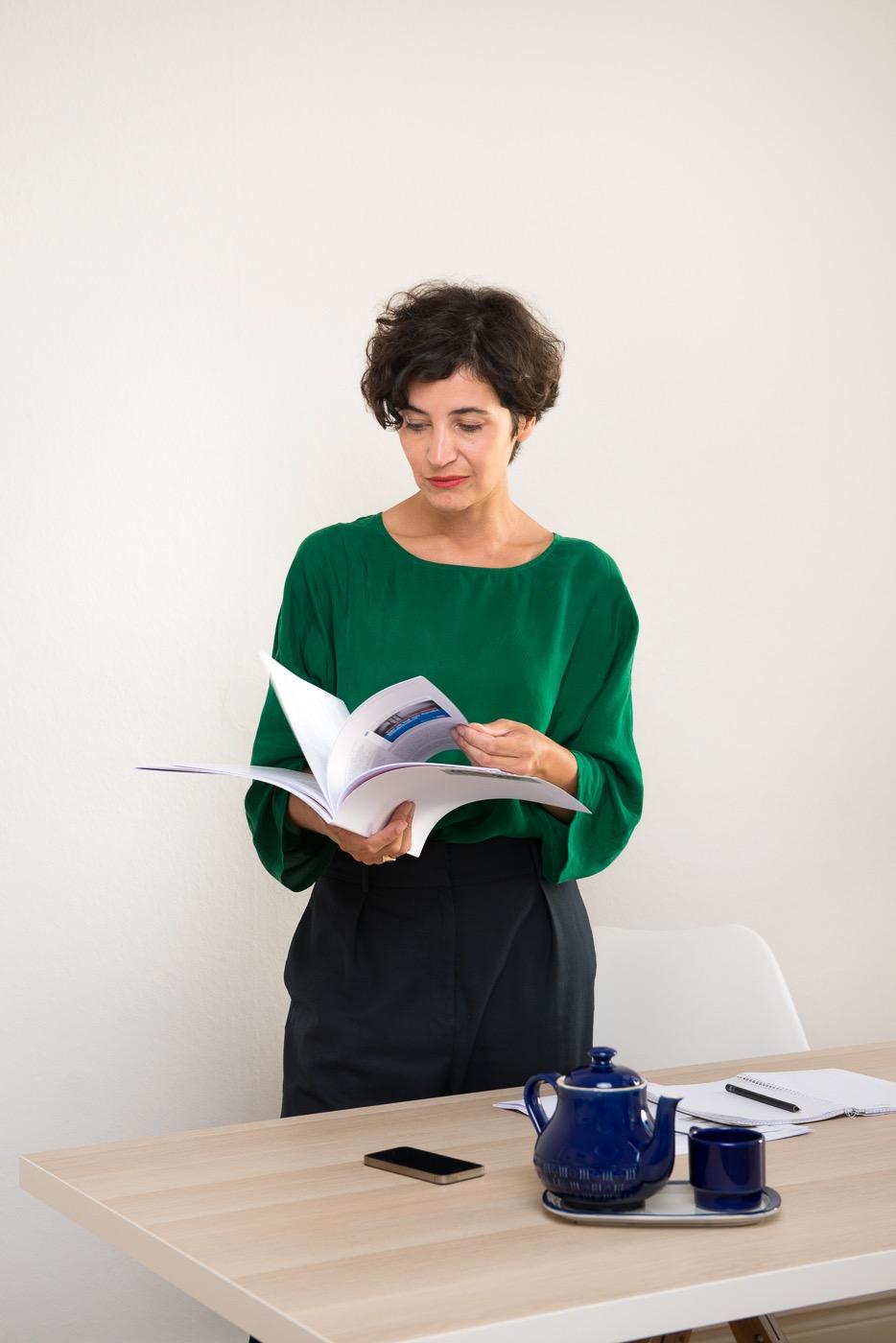 Anna-Lena von Hodenberg leitet die Beratungsstelle HateAid.