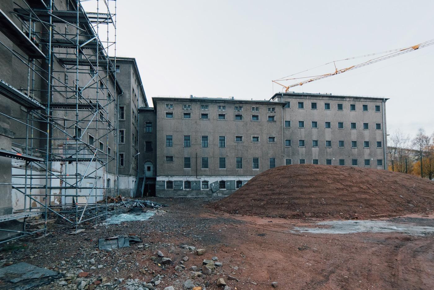 Auf dem Gelände in Chemnitz entstehen Stadtvillen und eine Tiefgarage.