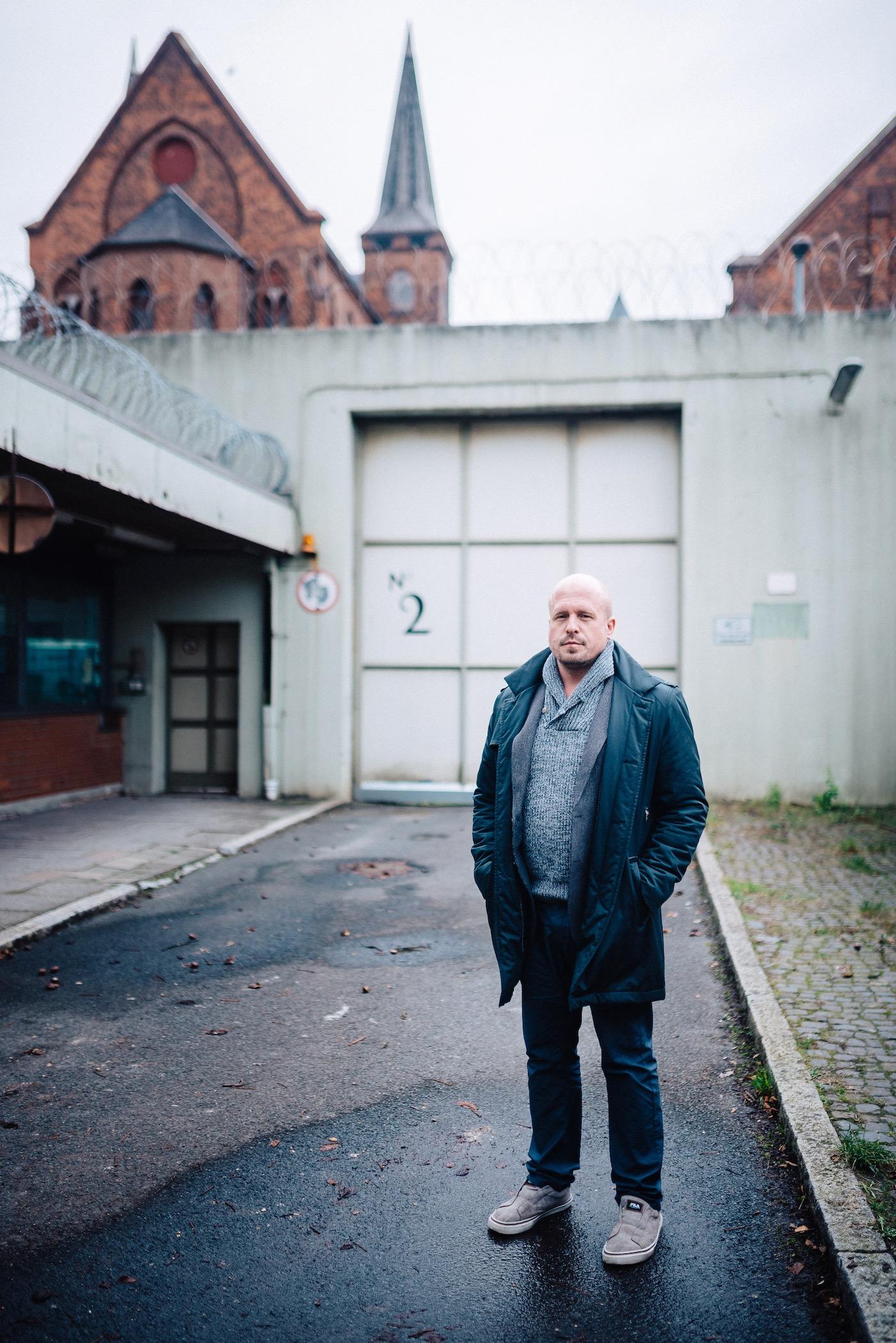 Seit mehreren Jahren arbeitet André Taubert auch in Justizvollzugsanstalten.