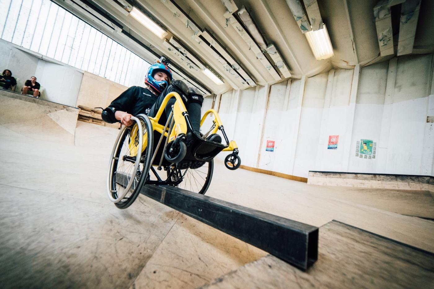 Ronja Holze wurde im Mai deutsche Meisterin im Wheelchair Motocross.