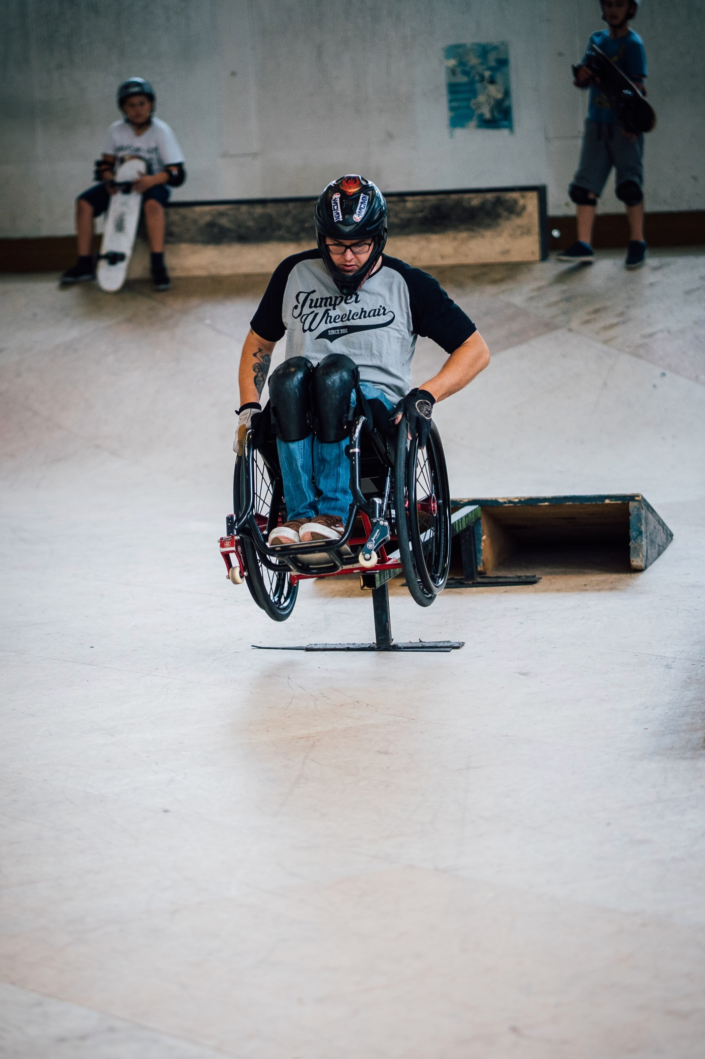 Lebuser sieht sich nicht bei den Paralympics, sondern bei den X-Games.