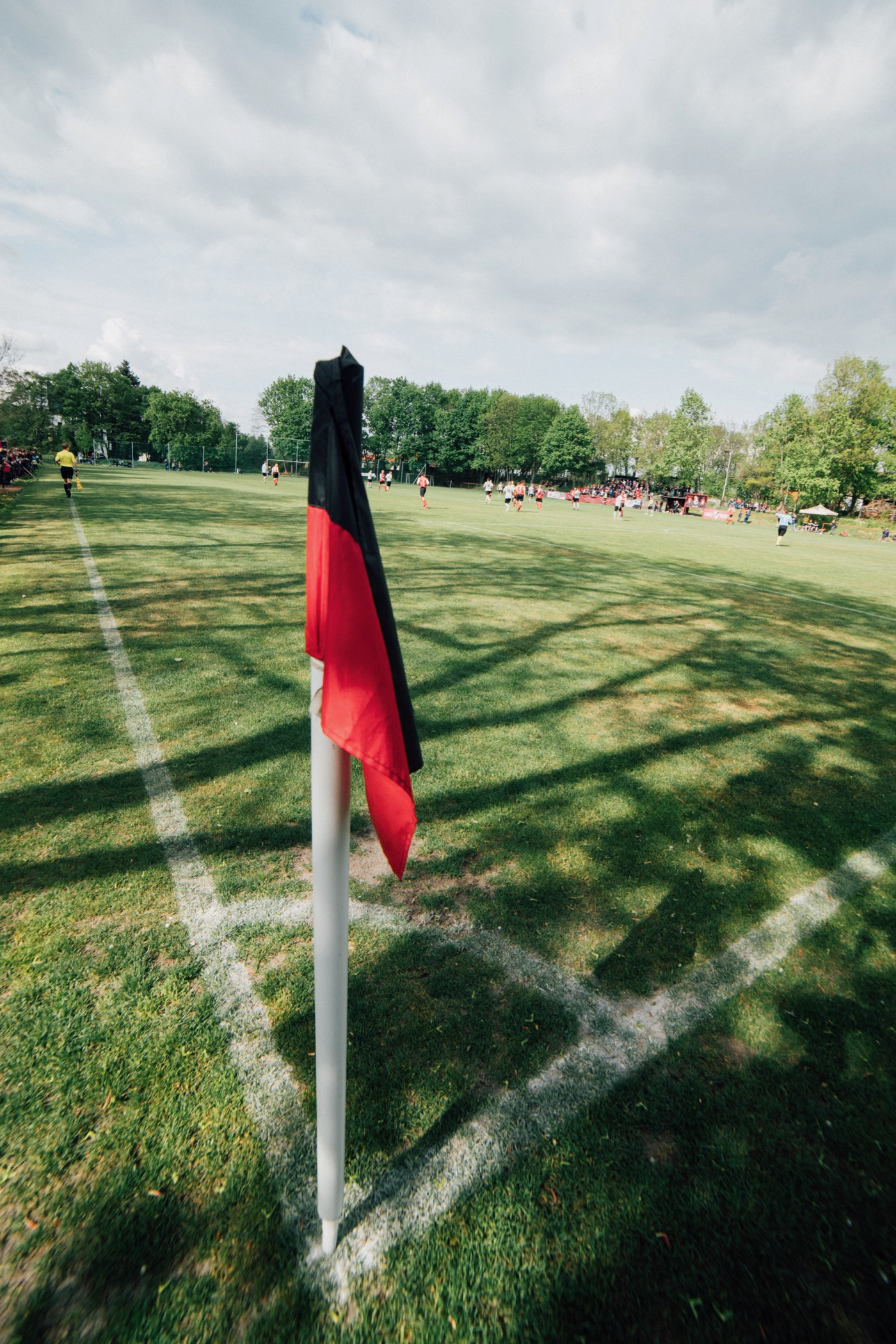 Der Rote Stern Leipzig kickt in Sachsens Landesklasse Nord, siebte Liga.