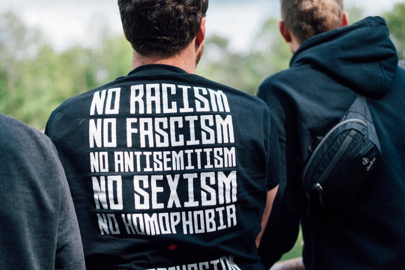 Eine antifaschistische Haltung gehört zum Selbstverständnis der Sterne.