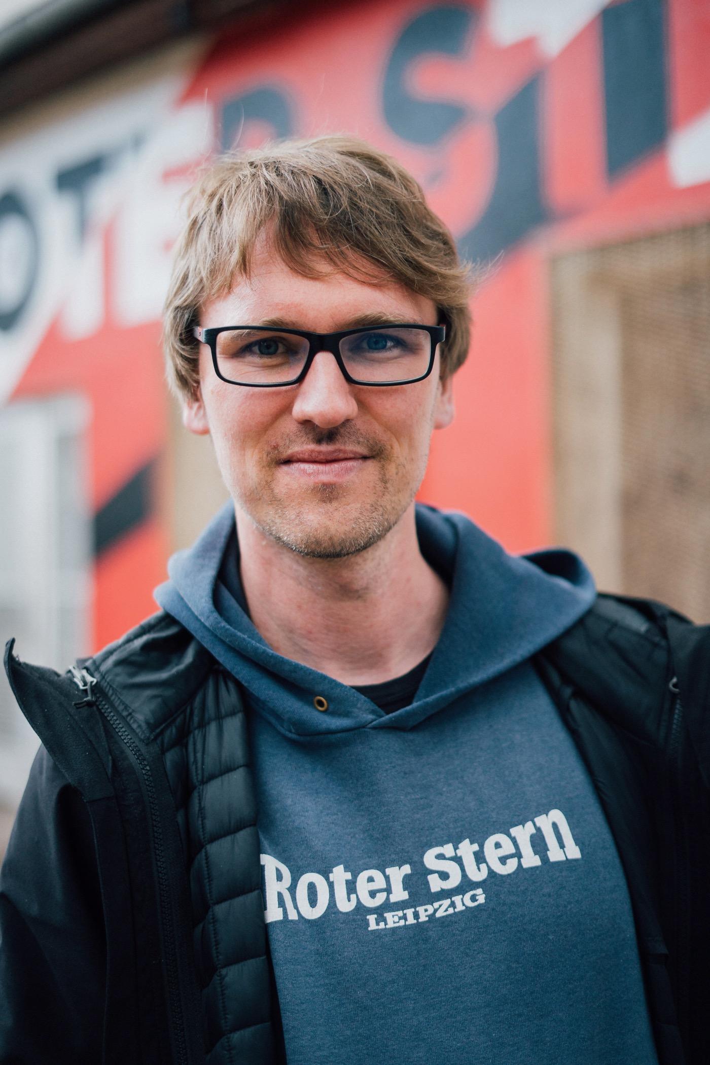 Adam Bednarsky ist Mitgründer des Klubs, der heute 1500 Mitglieder zählt.