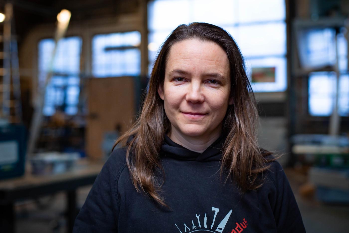 Corinna Schäfer arbeitet bei Cadus, eine Initiative in der humanitären Hilfe.