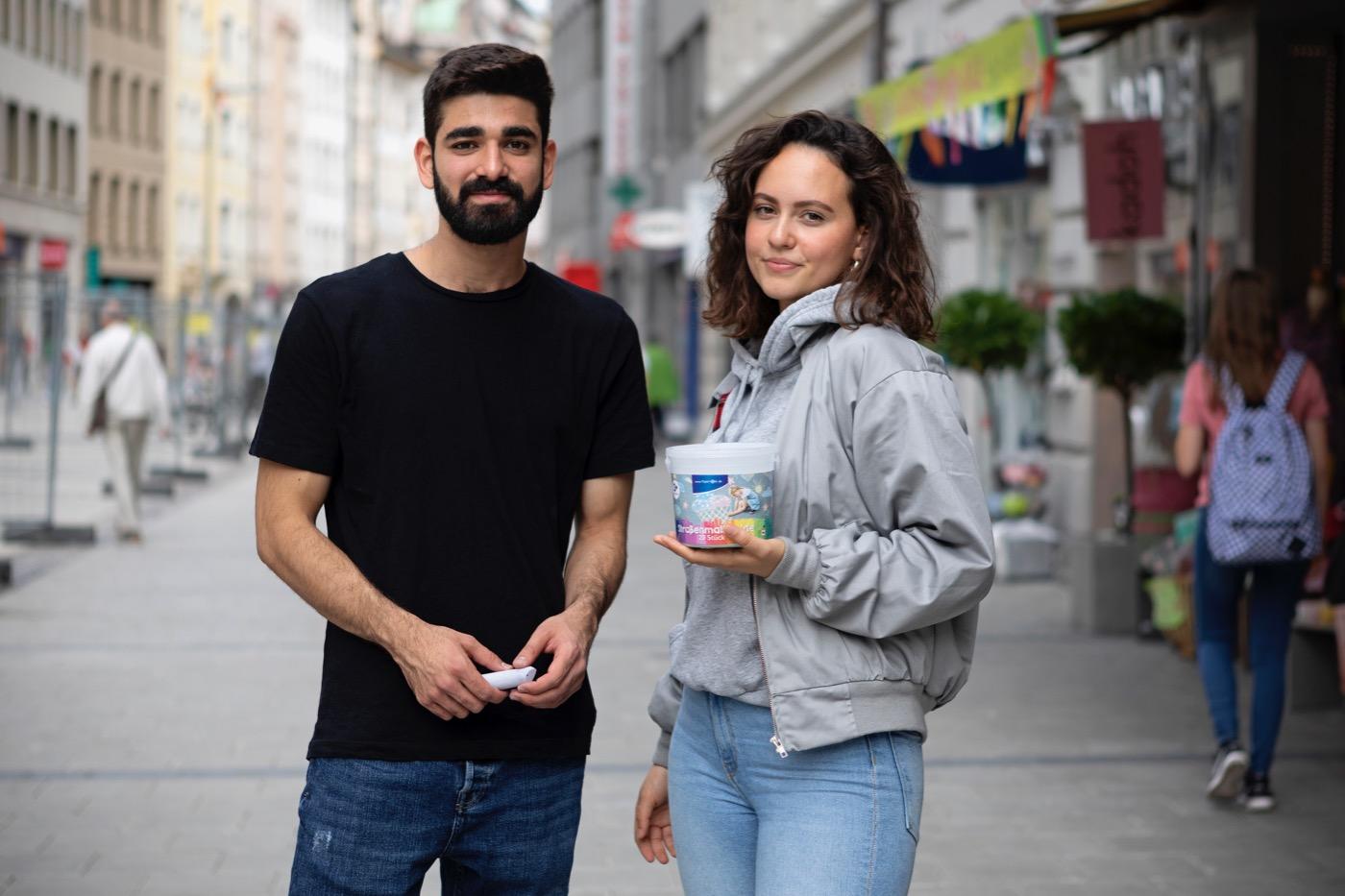 Ege und Sofija sorgen mit ihrem Projekt auch im Netz für Aufsehen.