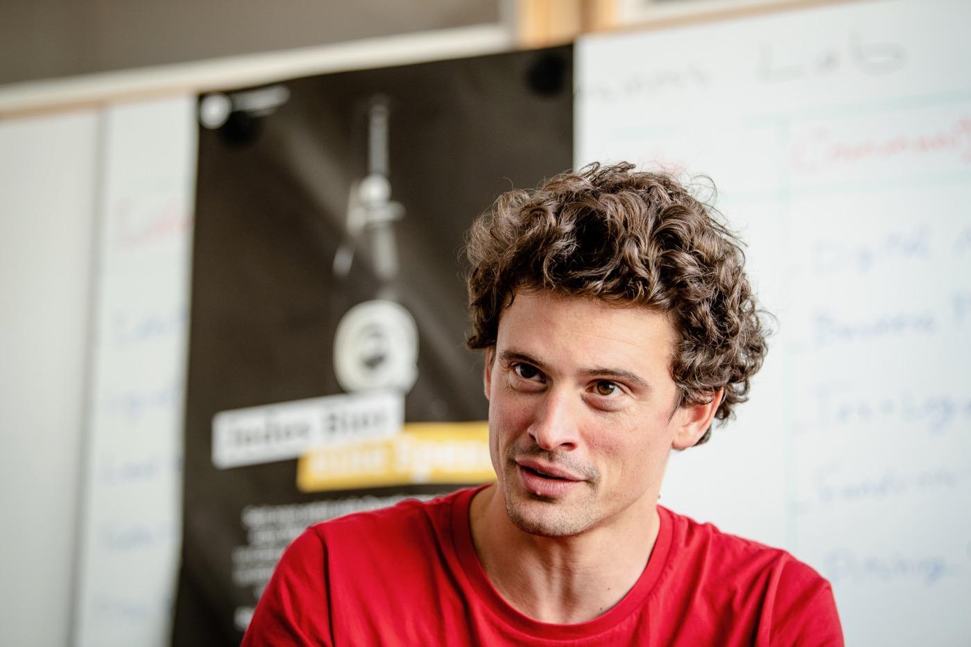 Peter Eckert weiß, dass die Idee sozialer Unternehmen unbekannt ist.