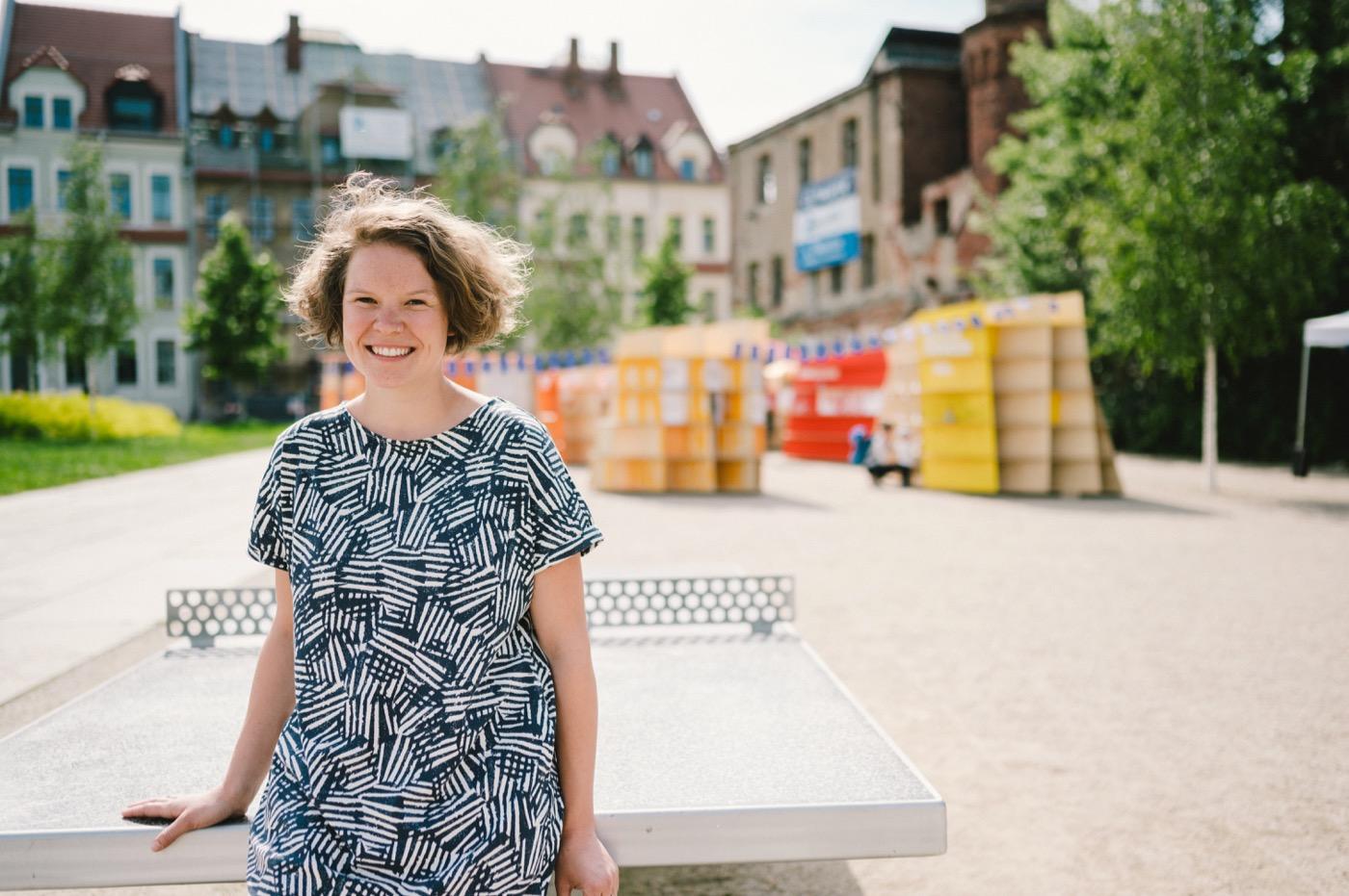 Hannah Göppert weiß um die Bedeutung von Gesprächsangeboten.