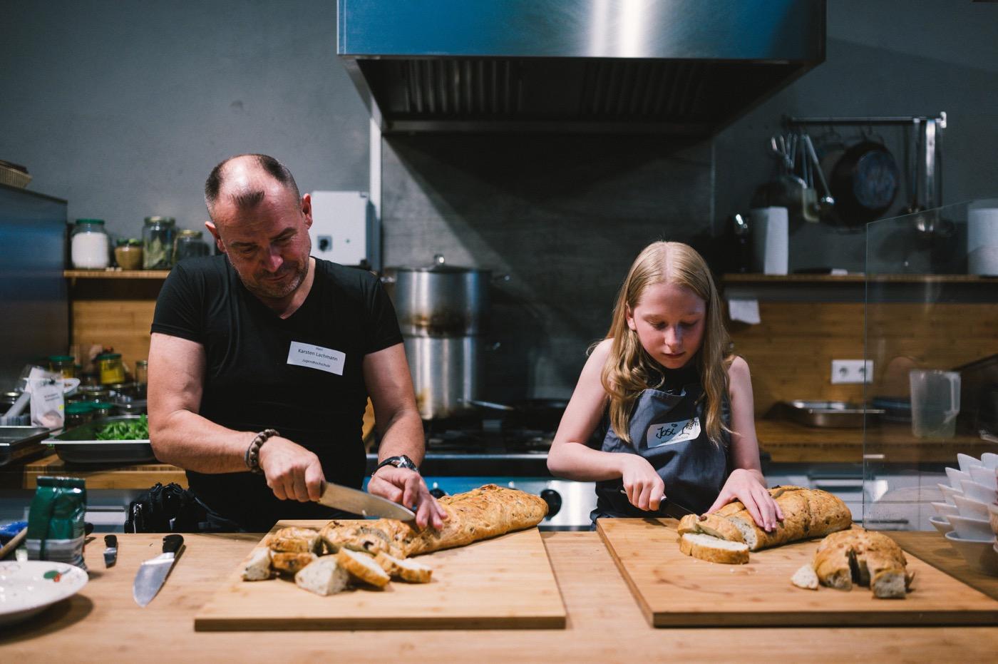 Hier kommt nichts aus der Tüte – sogar das Brot wird frisch gebacken.