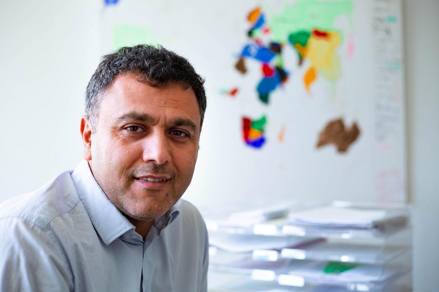 Mamad Mohamad gründete vor über zehn Jahren das Netzwerk Lamsa.