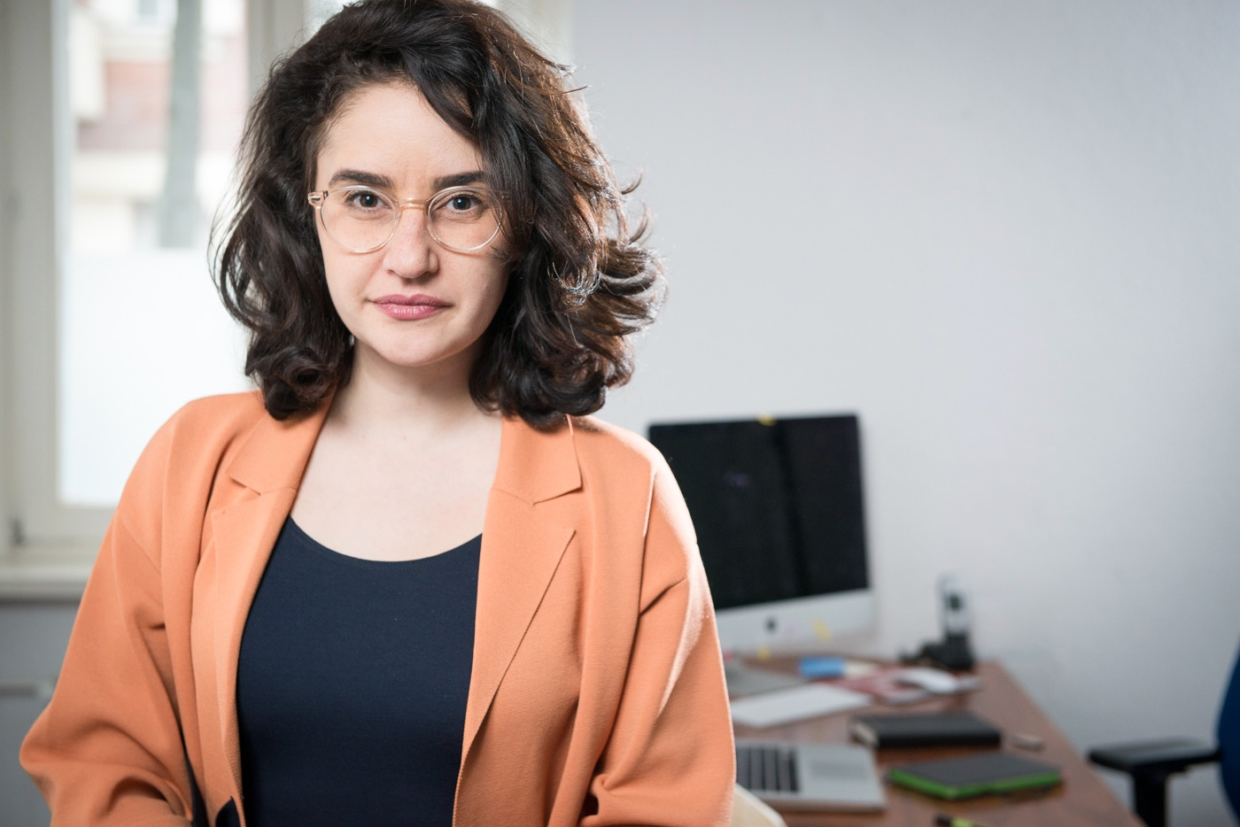 """Armaghan Naghipour engagiert sich für den Verein """"Deutsch Plus""""."""