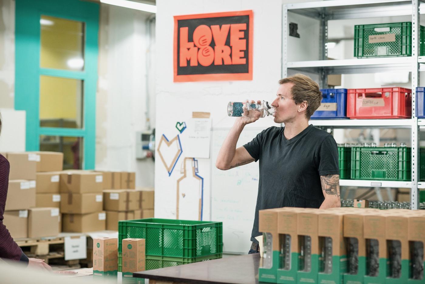 Paul Kupfer, 30, gehört zu den Gründern des sozialen Jungunternehmens.