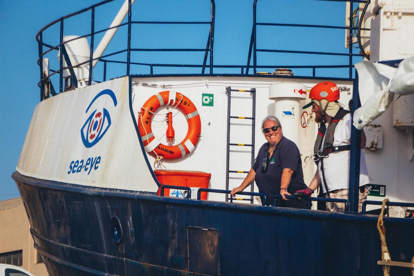 Bärbel Beuse ist Kapitänin – auf Kreuzfahrten und bei Seenotrettungsmissionen.