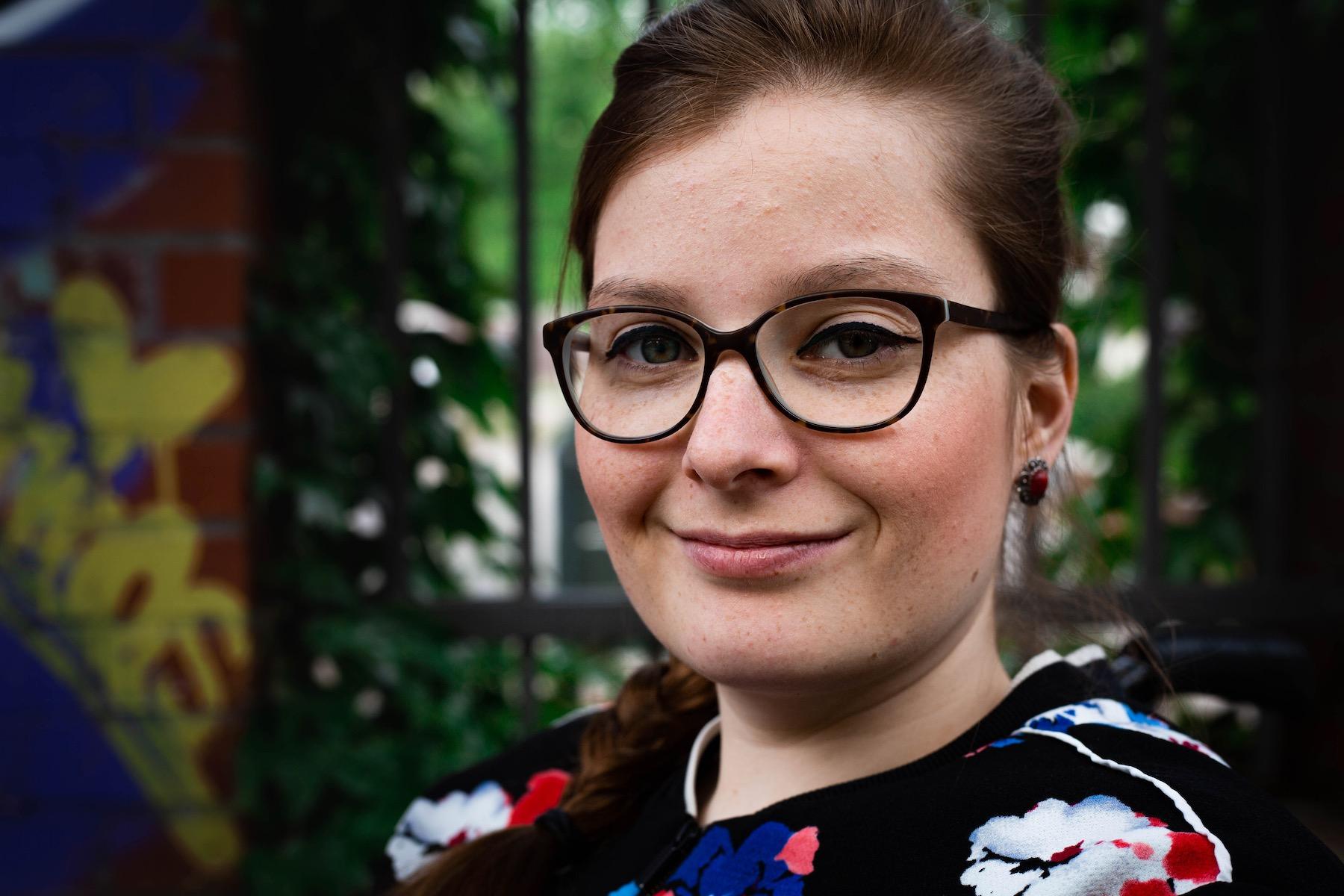 Judyta Smykowski, 30, wünscht sich mehr Solidarität und weniger Egoismus.