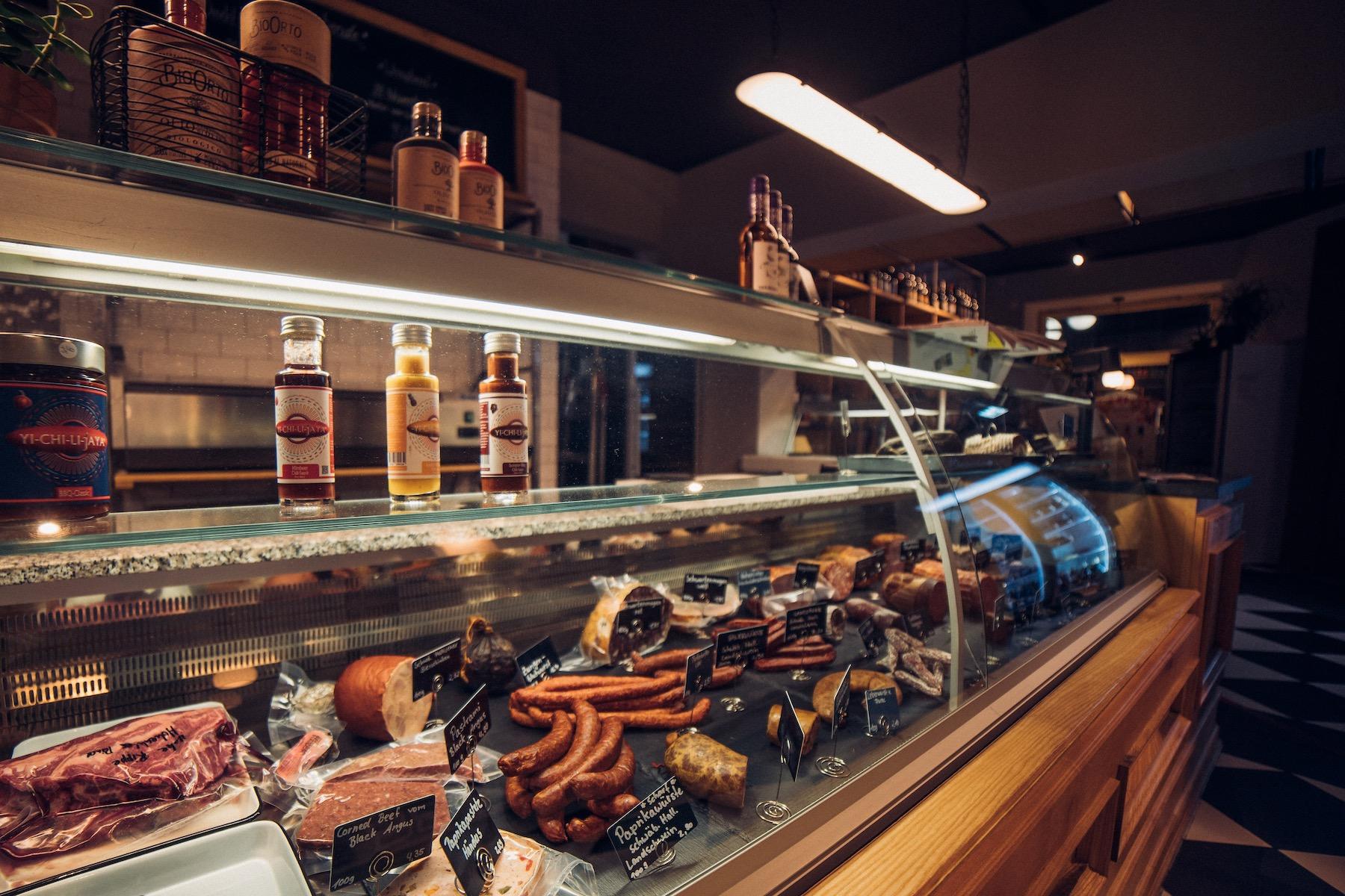 """Vor gut zwei Jahren eröffnete Michelle Nötzel den """"Fleischladen"""" in Chemnitz."""