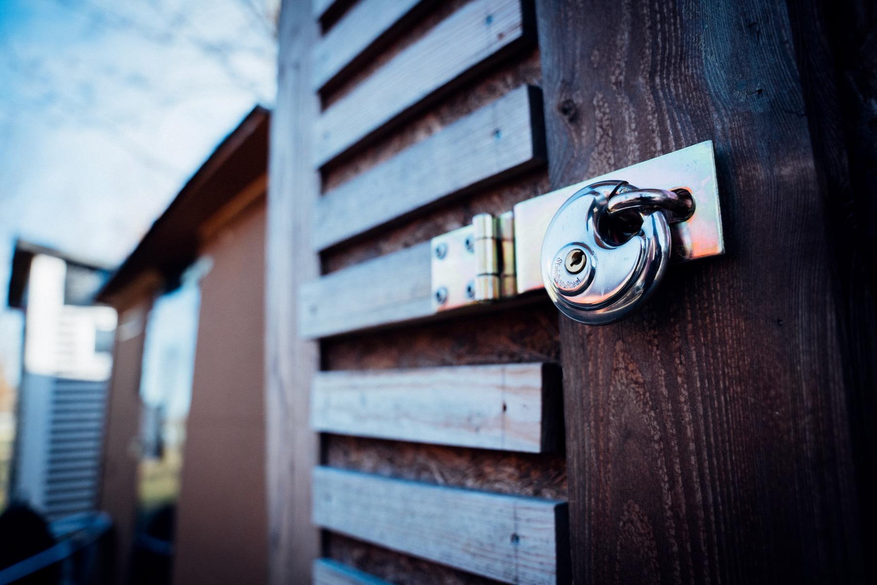 Alles gut verschlossen: Die Häuser bedeuten auch Verantwortung.