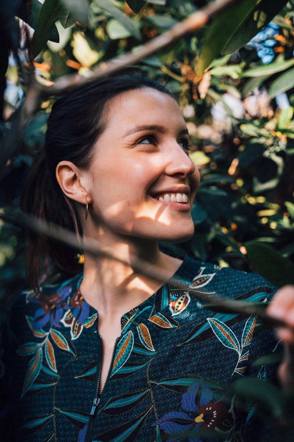 Hannah Emde möchte Menschen zu einem globalen Denken anregen.