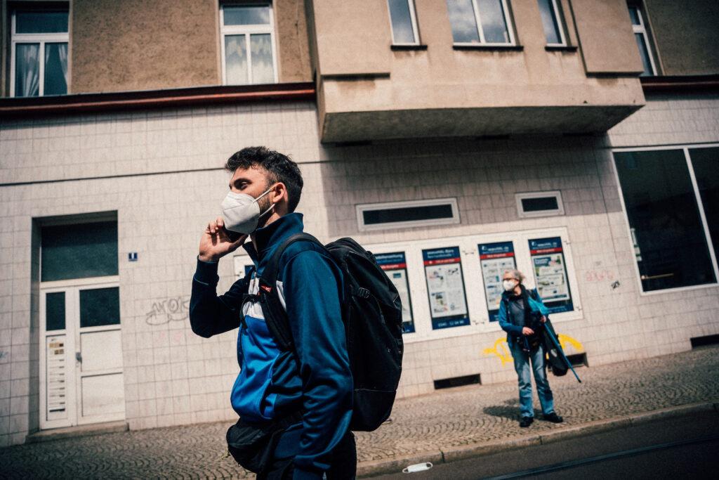 Versammlungsleiter der #unteilbar-Demonstration: Clemens Wagner.